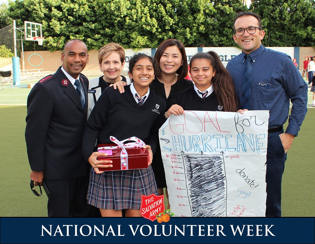 "It&#39;s National Volunteer Week! From The Salvation Army to our ""army"" volunteers – THANK YOU AND GOD BLESS YOU! #salvationarmyoc #NationalVolunteerWeek <br>http://pic.twitter.com/i2NDZjubl3"
