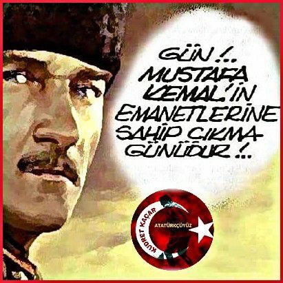 #AtatürçüCBadayıİstiyoruz Türkiye cumhur...