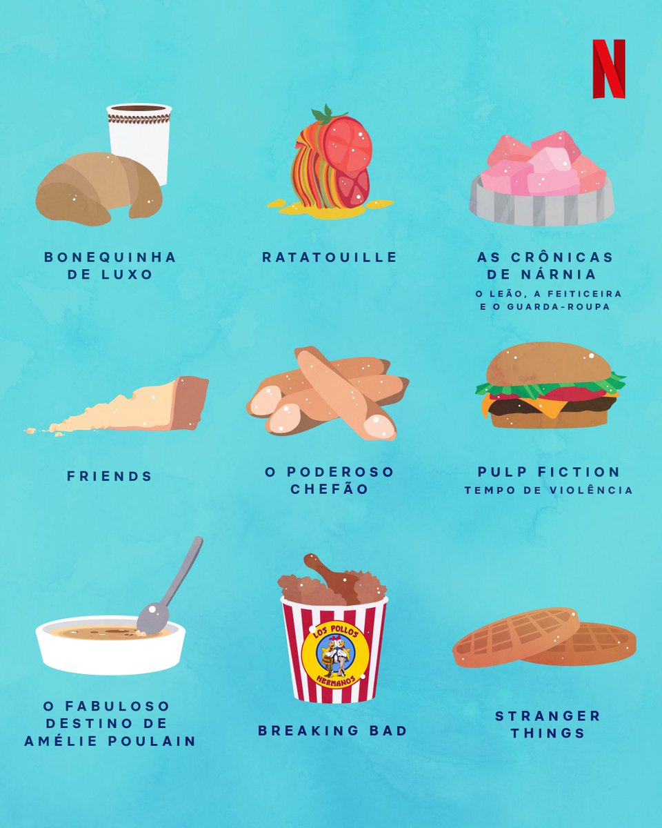 Pessoas que lembram automaticamente de uma comida com qualquer filme ou série, me add.