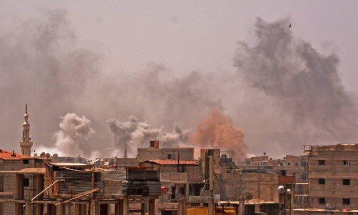 Estado Islâmico cede à Síria seu último...