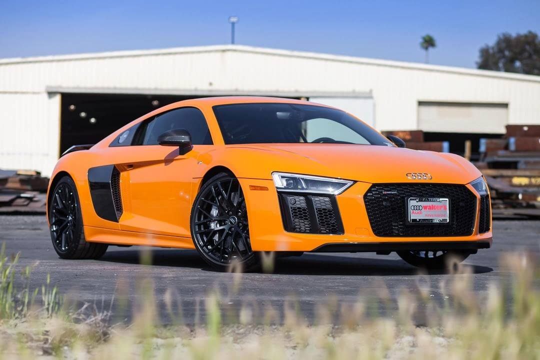 Walter S Audi On Twitter Fbf To The Audi Exclusive Solar Orange R8 V10 Coupe Our Time Together Was Short But Fun We Know Its New Owner Is Having A Blast Behind The