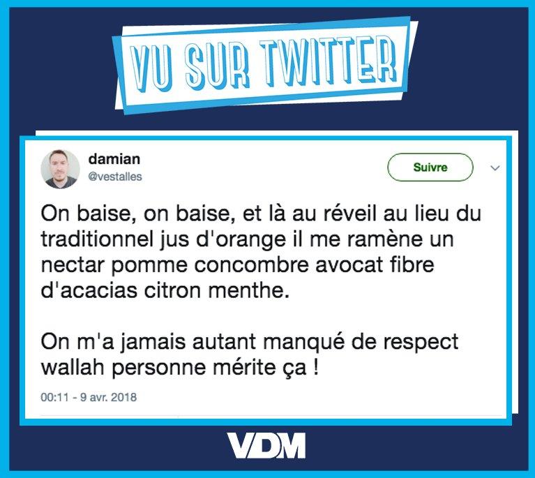 Très gros manque de respect pour @vestalles #VDM #viedemerde #vusurtwitter