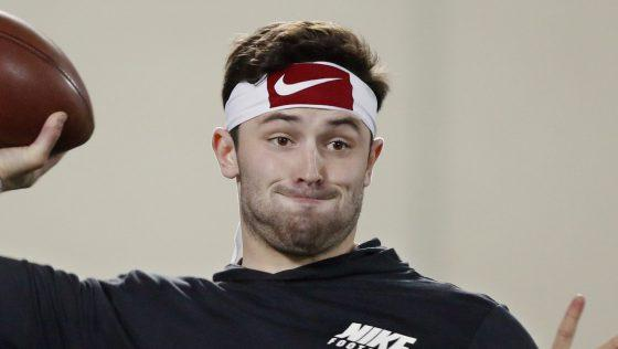 Baker Mayfield in his documentary: I wan...