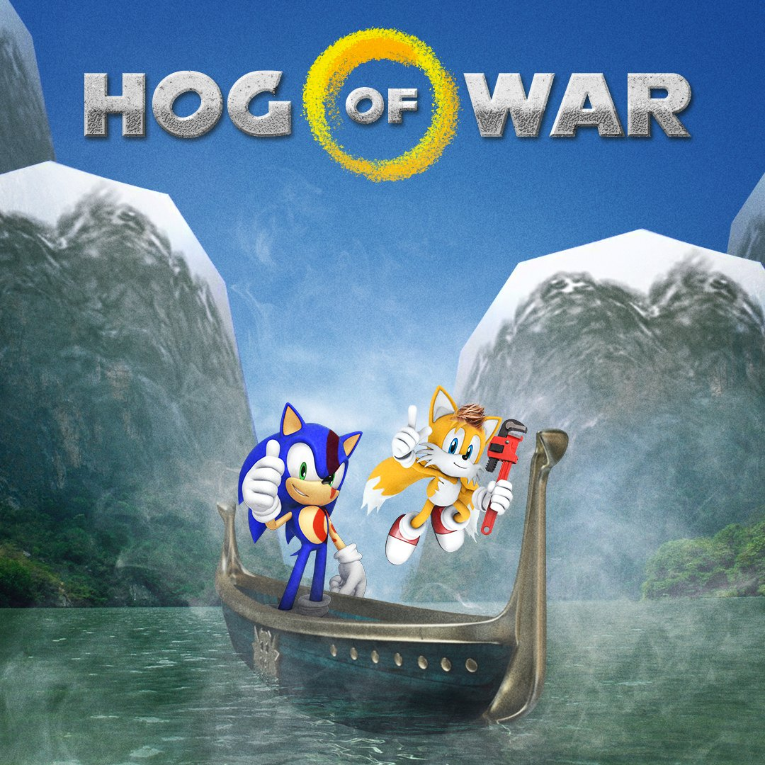 Sonic the Hedgehog's photo on #GodOfWar