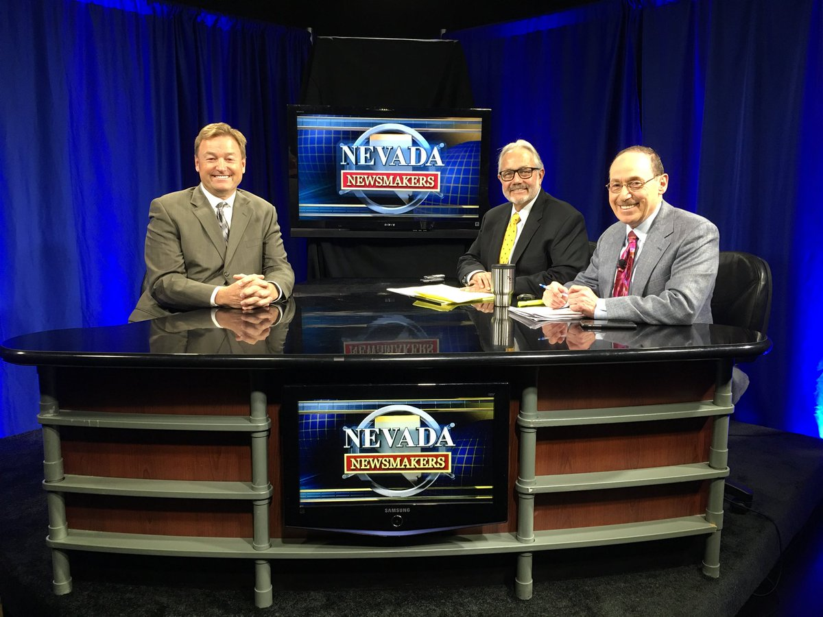 NV Newsmakers returns to TV next week! The 30-min. show on politics/biz can be seen in Reno on The CW at noon, Tuesday-Friday & in Las Vegas on MYTV at 5:30am & 6am Saturday, Sunday. We've been on radio, podcast only since Dec. 2016. NV Newsmakers was on TV since 2002 before that
