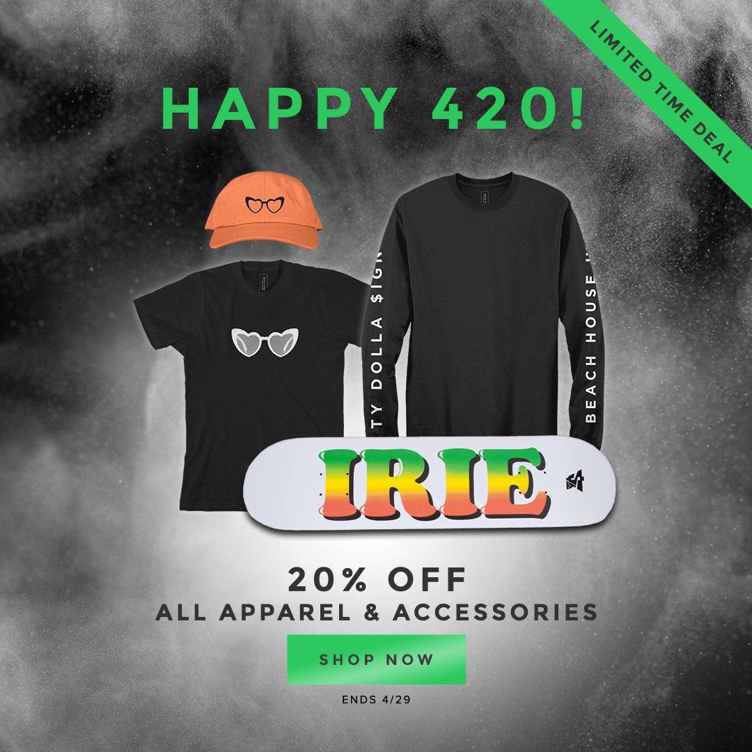 #Happy420 Sale! $hop here: smarturl.it/TDS420Sale 💨