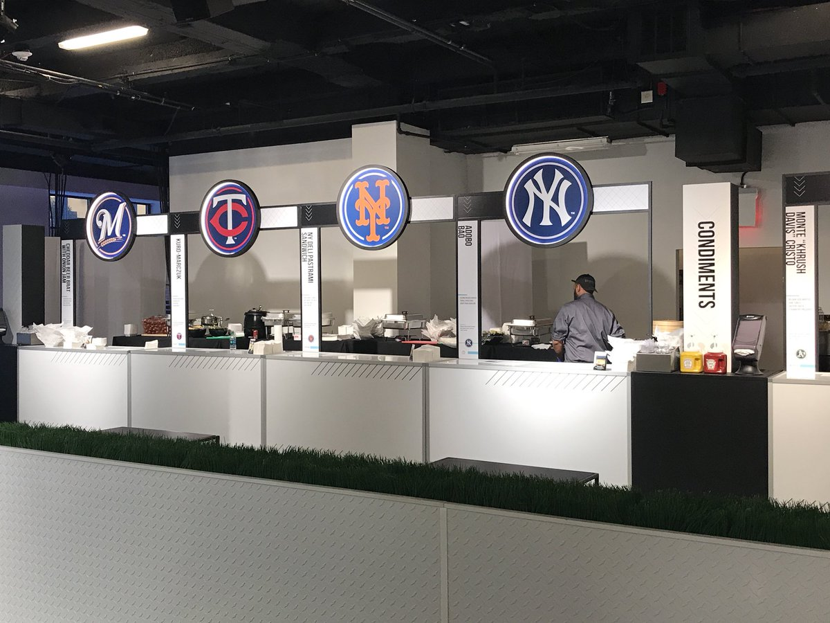 Darren Rovell On Twitter Checking Out At Mlb Food Fest In Nyc Food