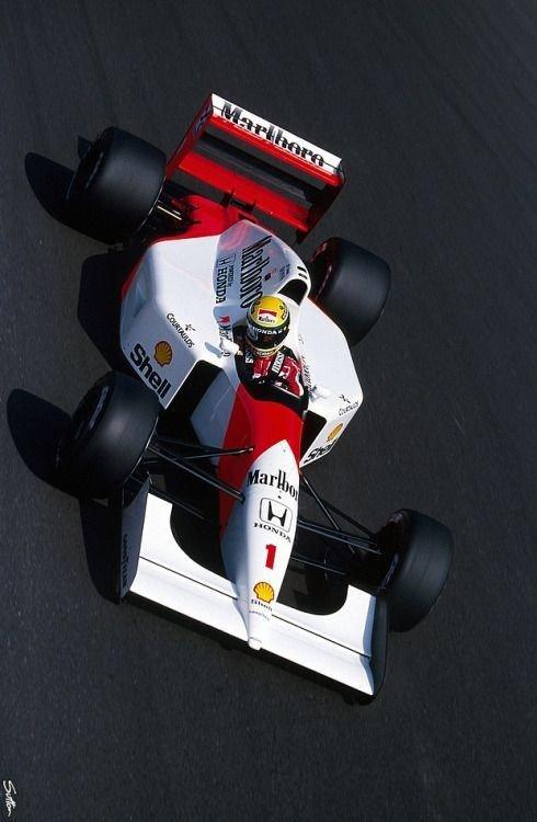 @sennatheking Senna - Monza 1992 🏆 https...