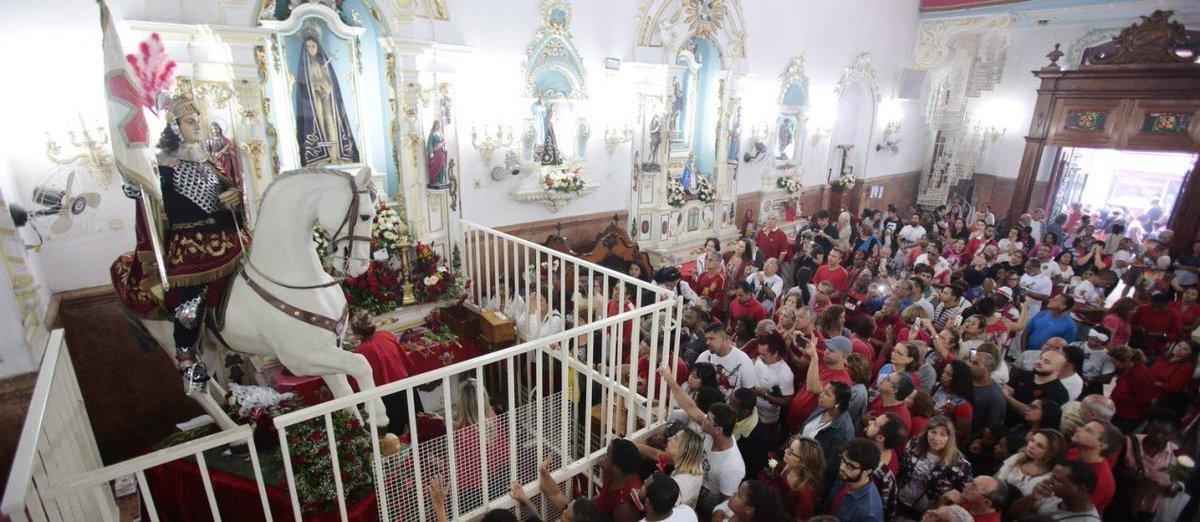 Dia de São Jorge será comemorado com alv...