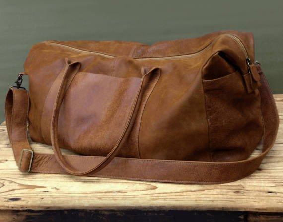 ea1f8e1784 LimorGalili Bags ·  limorg9. a year ago. SALE! Brown Mens Travel Bag  Groomsmen Gift Men s  bagsandpurses  EtsyMktgTool https