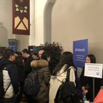 #UNetwork We received hundreds of resumes in #UCBerkeley Blockchain Career Fair on 18 Apr. Big thanks to organizers @CryptoParency @DekryptCapital @CalBlockchain and see many friends there @NKN_ORG @bodhitoken @aelfblockchain @NEO_Blockchain @ConsenSys @helloiconworld @iotex_io
