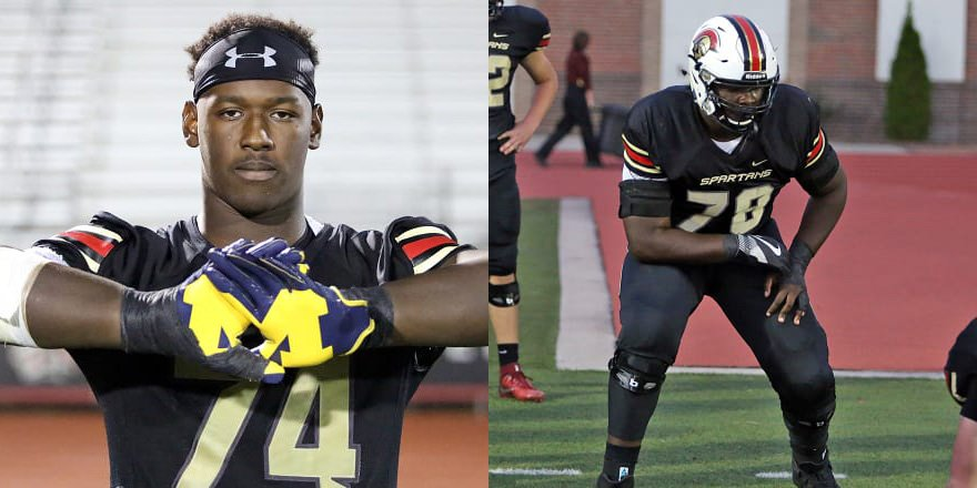 BROTHERS TOGETHER? Will the Hinton brothers, who play at Norcross (Ga.) Greater Atlanta Christian, play together in college ... at #Michigan? @adamgorney, @ChadSimmons_ &  dis@rivalsmikecuss: https://t.co/GAp6PaXzda