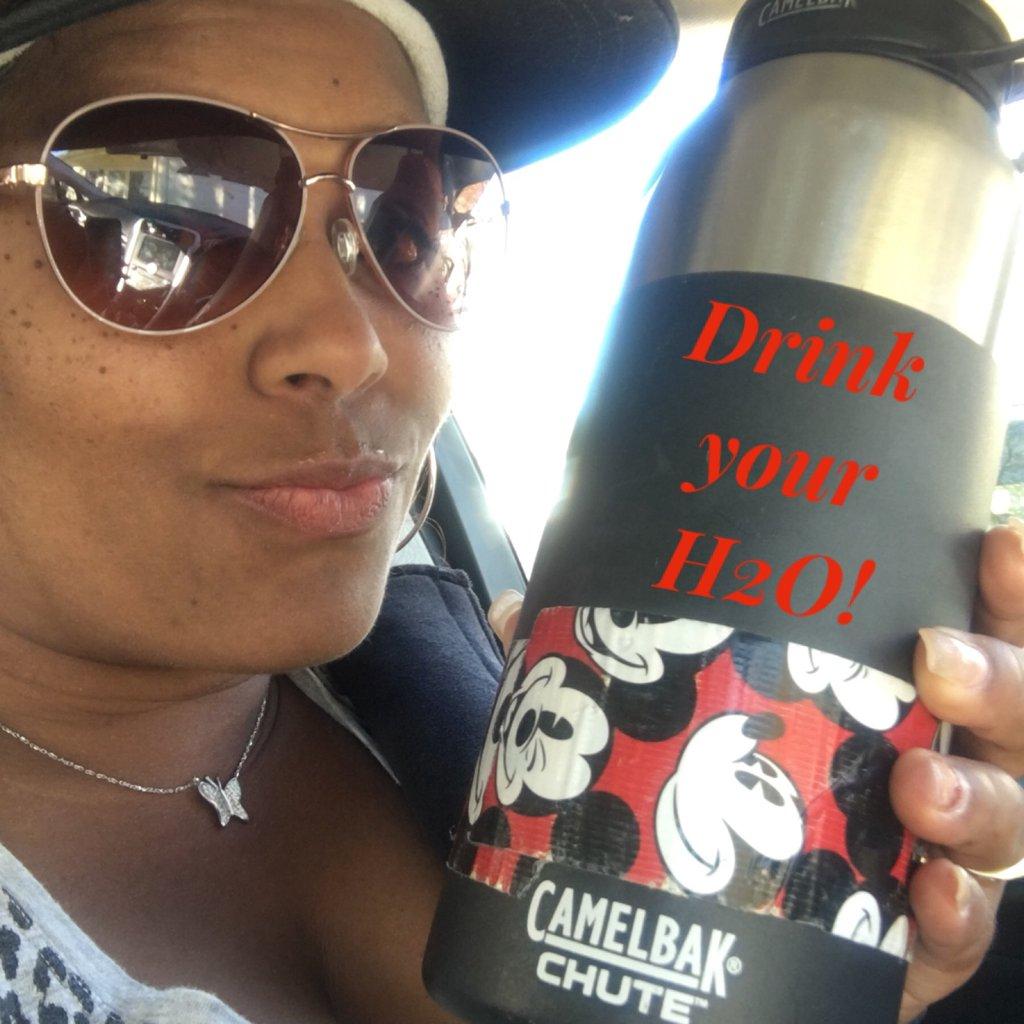 Drink your H2O! #h20challenge #ichooseme...