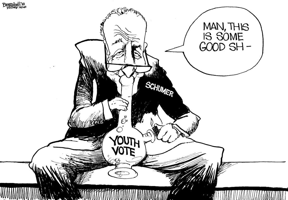 Here's an early look at tomorrow's Bill Bramhall cartoon   SEE MORE: https://t.co/YnDnxSOJ83