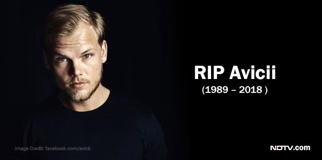 Avicii, Swedish DJ and musician, dies at 28 #RIPAvicii  https://t.co/ygjKkU1nkf