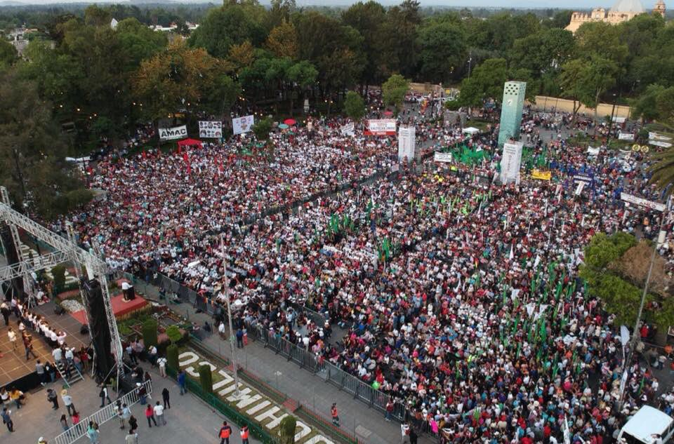 Estuvimos en Milpa Alta y Xochimilco, miren la plaza de este último lugar, histórico y chinampero.