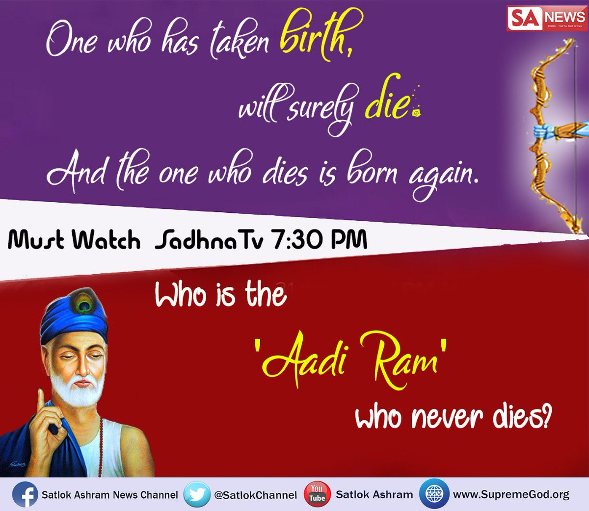 #SaturdayMotivation Life is temporary but death is permanent,we never know what will happen next. So, stop running over money . We need Guru&#39;s shelter for our safety in this life and after life. #mindset <br>http://pic.twitter.com/QnDVBTEWuW