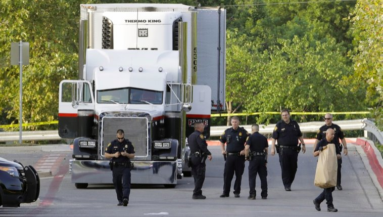Life sentence for truck driver who smuggled immigrants in overheated tractor-trailer https://t.co/NwAVNaqHJn