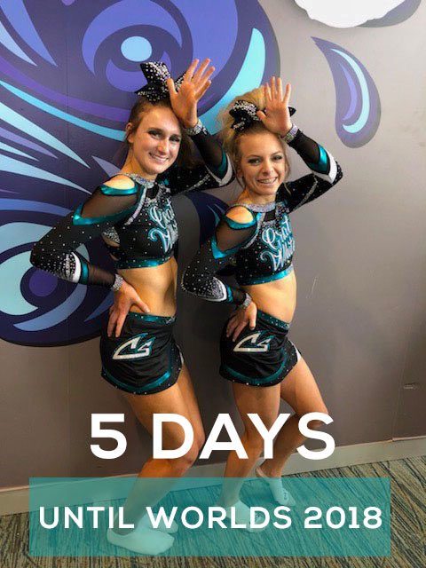 5 DAYS UNTIL WORLDS 2018: the work is always worth it. What are you doing to get ready for worlds? @CSSharks #CheerDistrict #Worlds2018