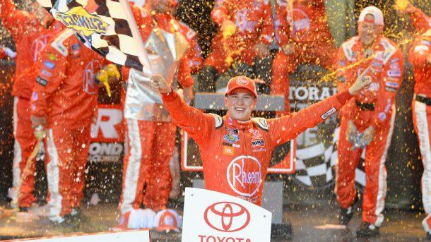 Christopher Bell wins Xfinity race at Ri...