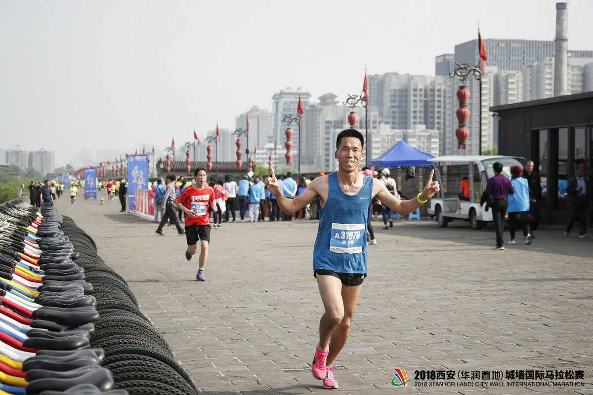 #UPDATE The 2018 Xi'an City Wall #Marathon set around the national cultural relic includes a 5 kilometer mark, a 13.7 kilometer mark, and a 21.09 kilometer mark, involving 400, 3,000, and 1,600 participants respectively.