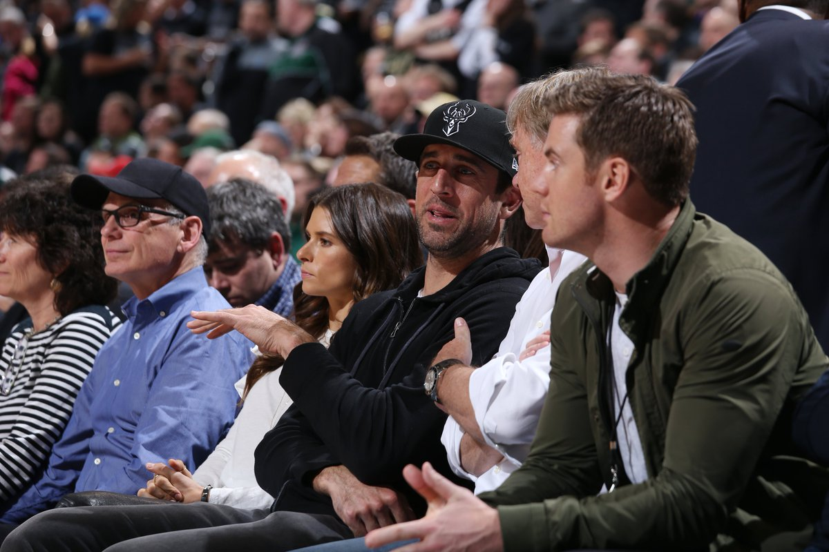 Aaron Rodgers announced as part owner of Bucks at game vs. Celtics 👏 ble.ac/2qOeuY1