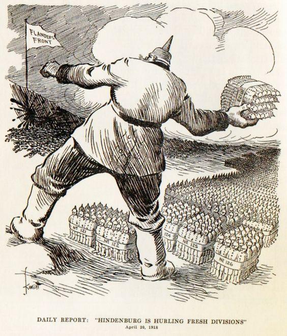 Apr 20, 1918 - Dallas News: Hindenburg hurling fresh German divisions at the Flanders Front #100yearsago