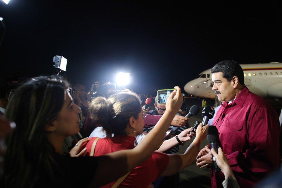 Nicolás Maduro en La Habana