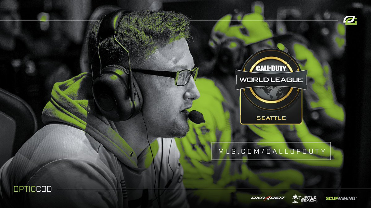 It's Mainstage time at CWL Seattle #OpTicCoD Vs. Team EnVy Get hyped Watch: https://t.co/U0wgkQdGY3