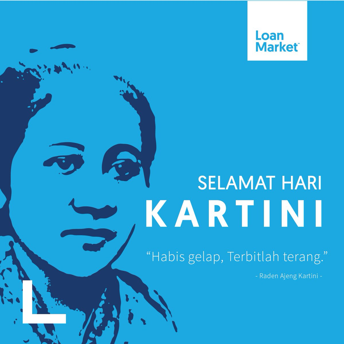 "Selamat Hari Kartini to all Indonesian Women! ""Habis Gelap Terbitlah Terang"". - R. A. Kartini 21 April 2018   #loanmarketindonesia #loanmarket #loanadviser #together #pinjaman #kpr  #modalusaha #bisnis #pengusaha #business #teamwork #april2018 #kartini #woman #eventpic.twitter.com/mqKb3ayz6t"