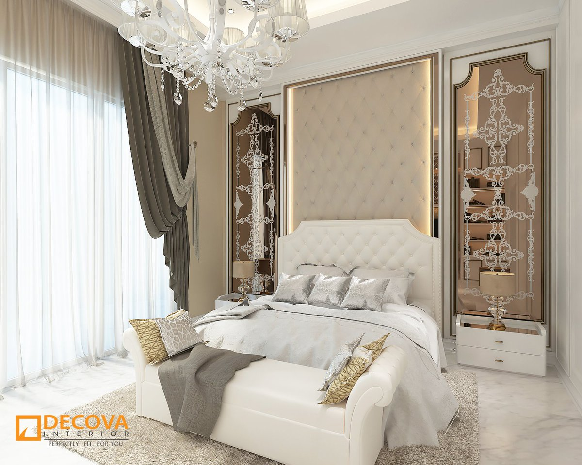 Decova Interior On Twitter It S Calming And Soothing It S Warm And Neutral Classic Interior Design Gives Us The Elegant And Luxurious Feelings If You Like Classic Go All Out With The Sparkly