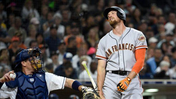 Giants place Hunter Pence on 10-day disa...