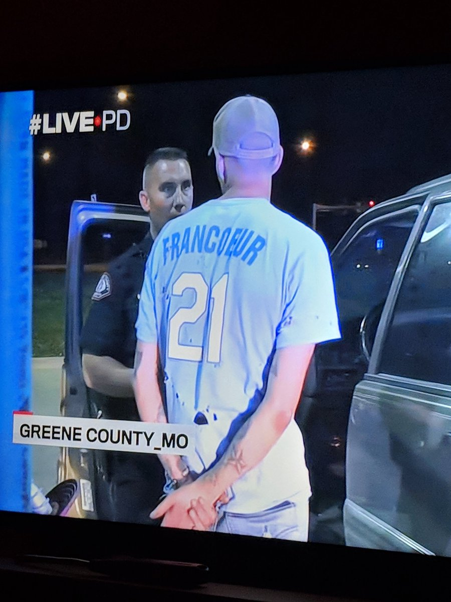 Royals well represented on #LivePD tonig...