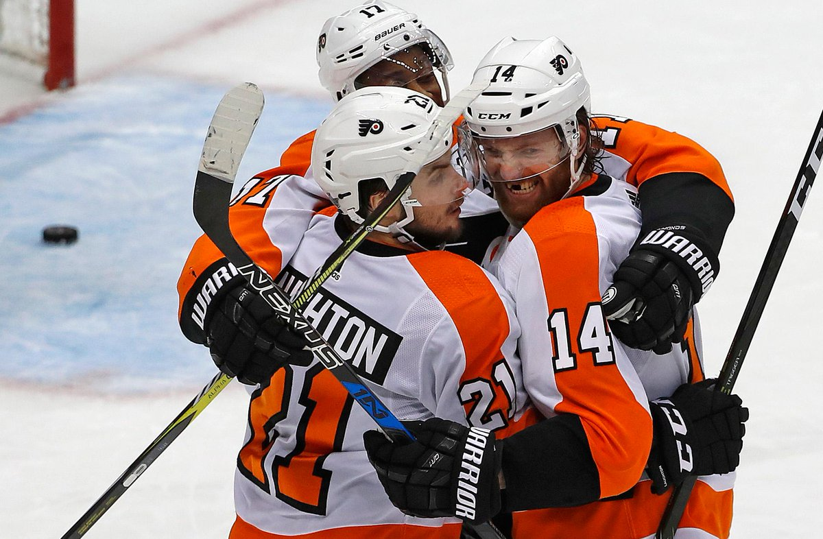 Sean Couturier returned and helped save...