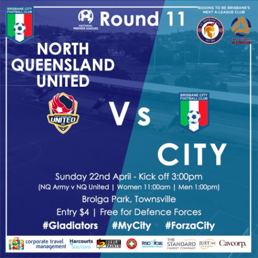 Football queensland footballqld twitter check out our preview to get yourself in the mood forzacity gladiators mycity httpbit2hdrecj picittermdcsz8itob solutioingenieria Images