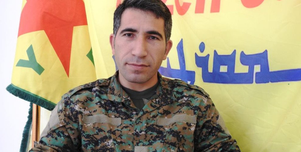 #SDF&#39;s Polat Can said: &quot;The goal of the Turkish attack on #Afrin canton was to prolong the life of #ISIS in regions east of Deir ez-Zor&quot; and added: &quot;Operation #CizireStorm will continue and we will destroy ISIS in #Syria.&quot;<br>http://pic.twitter.com/oum5jLlllS