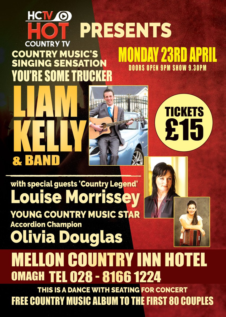 035d54cd8b46 Last chance to get your tickets for Hot Country TV s latest concert! With  Paul Kelly
