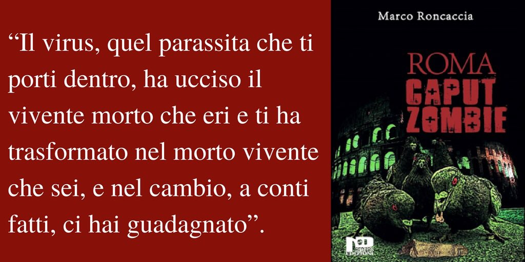 #21Aprile #Roma #horror #zombie #ironia...