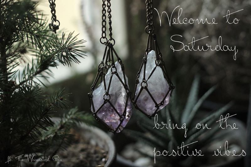 Welcome to Saturday. Bring on the positive vibes!    #magick #witch #wiccan #pagan #crystals #awakening #enlightenment #divination #Witchcraft #spells #candles #Runes #tarot #FolkMagick #mystic #shaman #spiritualism #PositiveVibesOnly #BlessedBe #skylee_sullivan<br>http://pic.twitter.com/Gy2x7bQU4A