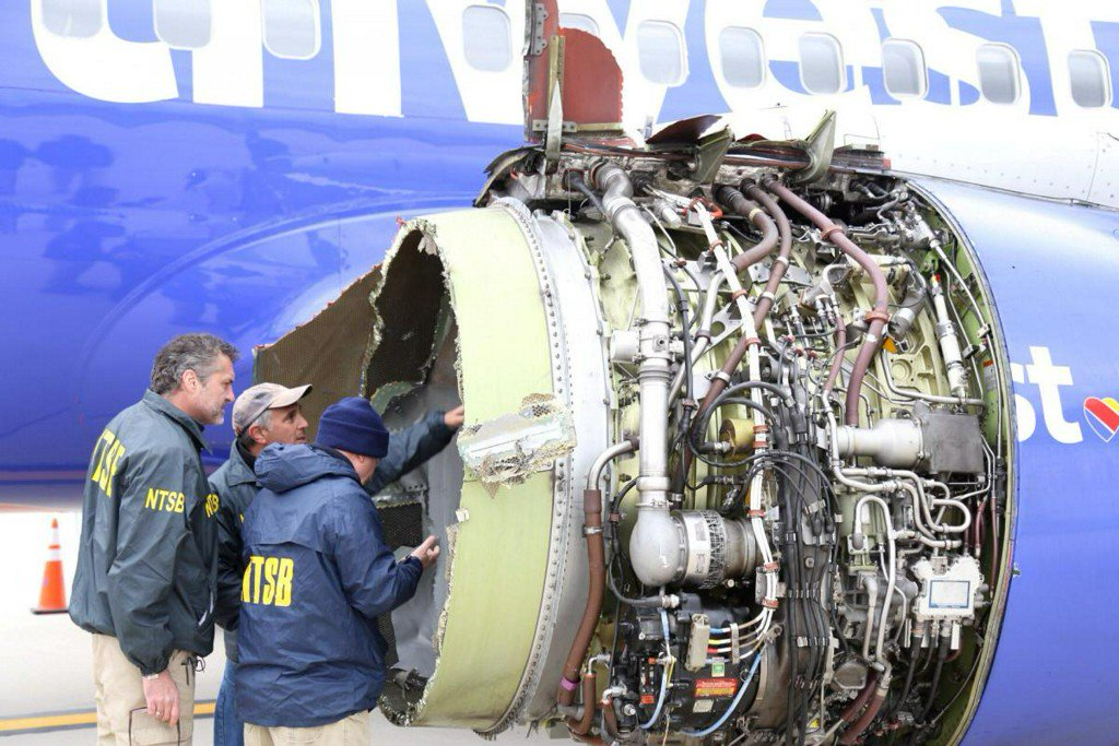 U.S., Europe order emergency checks on engine type in Southwest accident https://t.co/rYQQs6Mmms https://t.co/titbG2EHNx