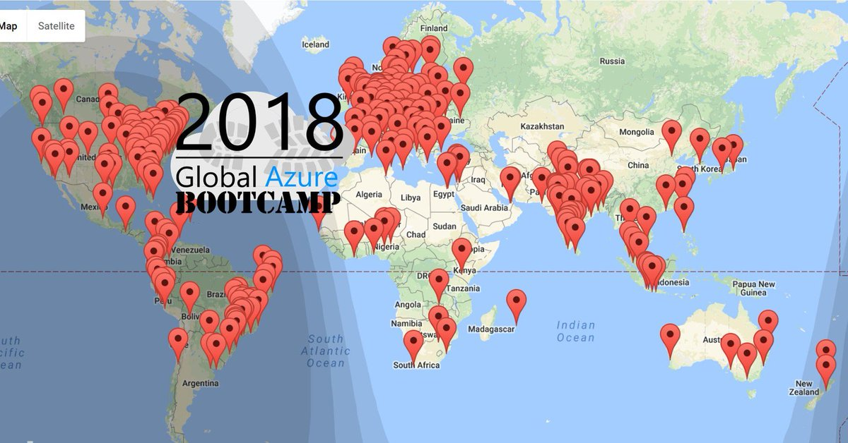 It&#39;s the day! #GlobalAzure Bootcamp is kicking off around the world!  21 countries  250 cities Thousands communities   #Enjoy everyone!  Cheers from Rome :)  #GABRome18 #Azure #cloud #Community #MVPbuzz #neverstoplearning<br>http://pic.twitter.com/jL8qTnlbz9