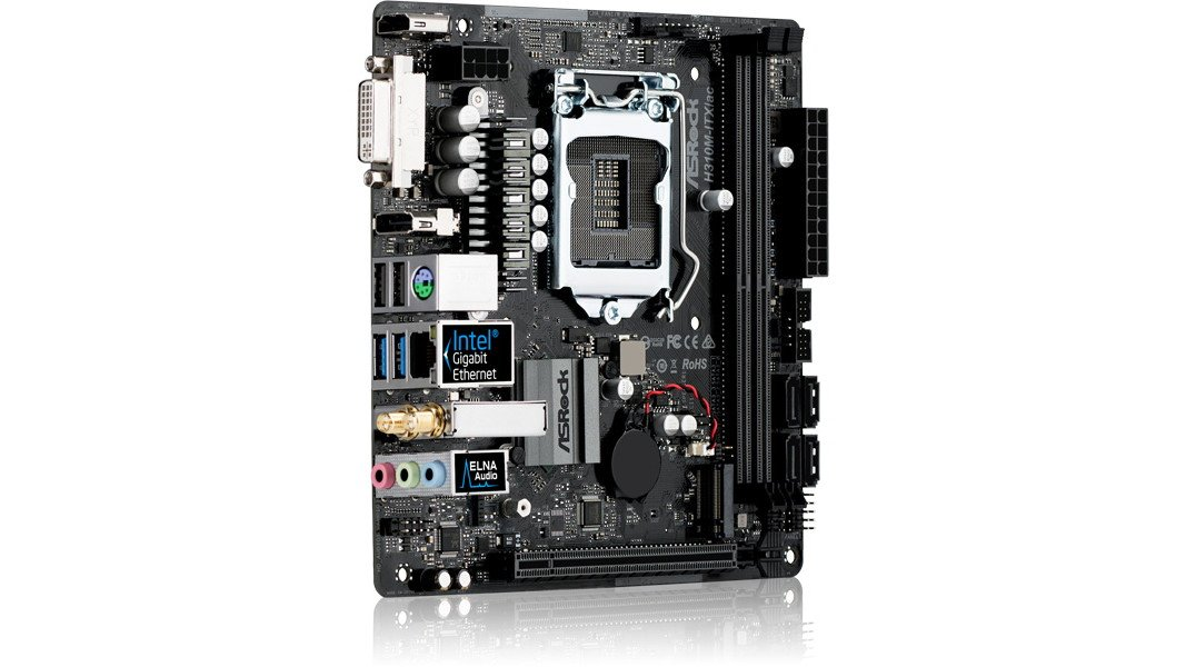 bad6441be2 M.2、インテルギガビットLAN、802.11ac WiFiなど、小さな基板に多くの求められる機能を搭載。H310  Mini-ITXマザー『ASRock H310M-ITX/ac』 https://bit.ly/2Hg6JjW ...