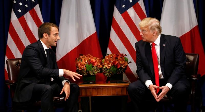 Trump, France's Macron to discuss Iran nuclear deal next week https://t.co/INI04vubJV https://t.co/1lsaj8LBsf