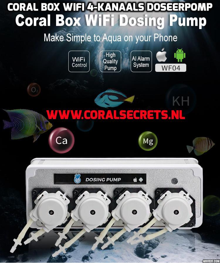 test Twitter Media - Coral Box Wifi 4-kanaals doseerpomp Eur 179,--  Coral Box Wifi 4-kanaals doseerpomp heeft stevige alumunium behuizing. Wordt bedient door gratis App op smartphone. De kleinste doseerpomp op de markt. Direct uit voorraad leverbaar https://t.co/hSLyUaEtq4 https://t.co/bvzC7MRwbw