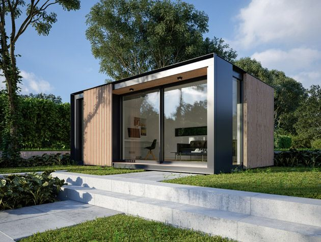 ... A Cost Effective And Stylish Way To Expand Your Home. We Should You How  To Build A #garden Room To Gain Extra Living Space ...