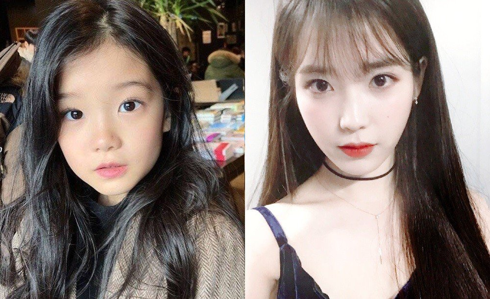 Netizens find the child actress of IU's role in 'My Mister' similar to IU's real younger self https://t.co/tzRSNyzevM