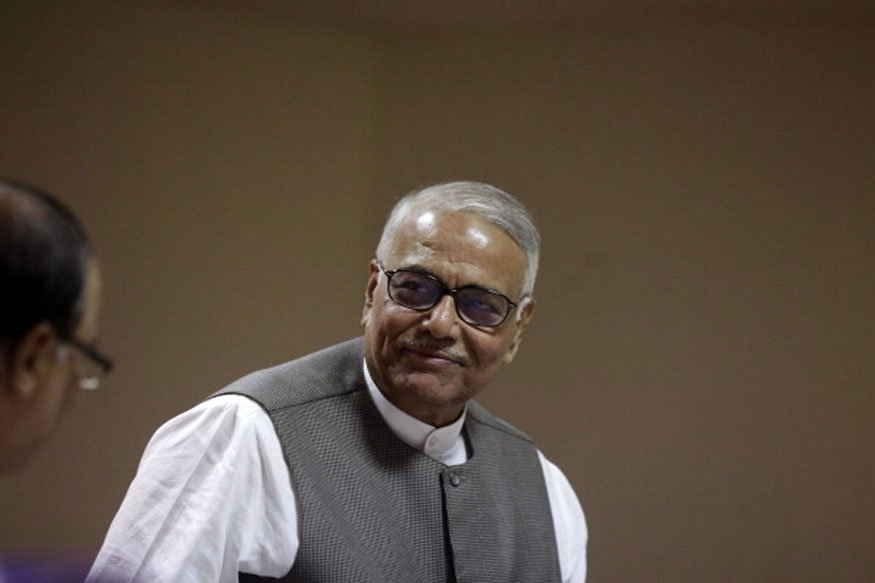 #BREAKING -- Yashwant Sinha quits BJP. The leader said, I end my all ties with BJP, will not join any political party. I will fight for democracy