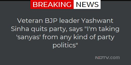 This is a breaking news alert. More details to follow.  #BreakingNews #NDTVNews