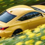 Go on that springtime drive. #LexusRCF