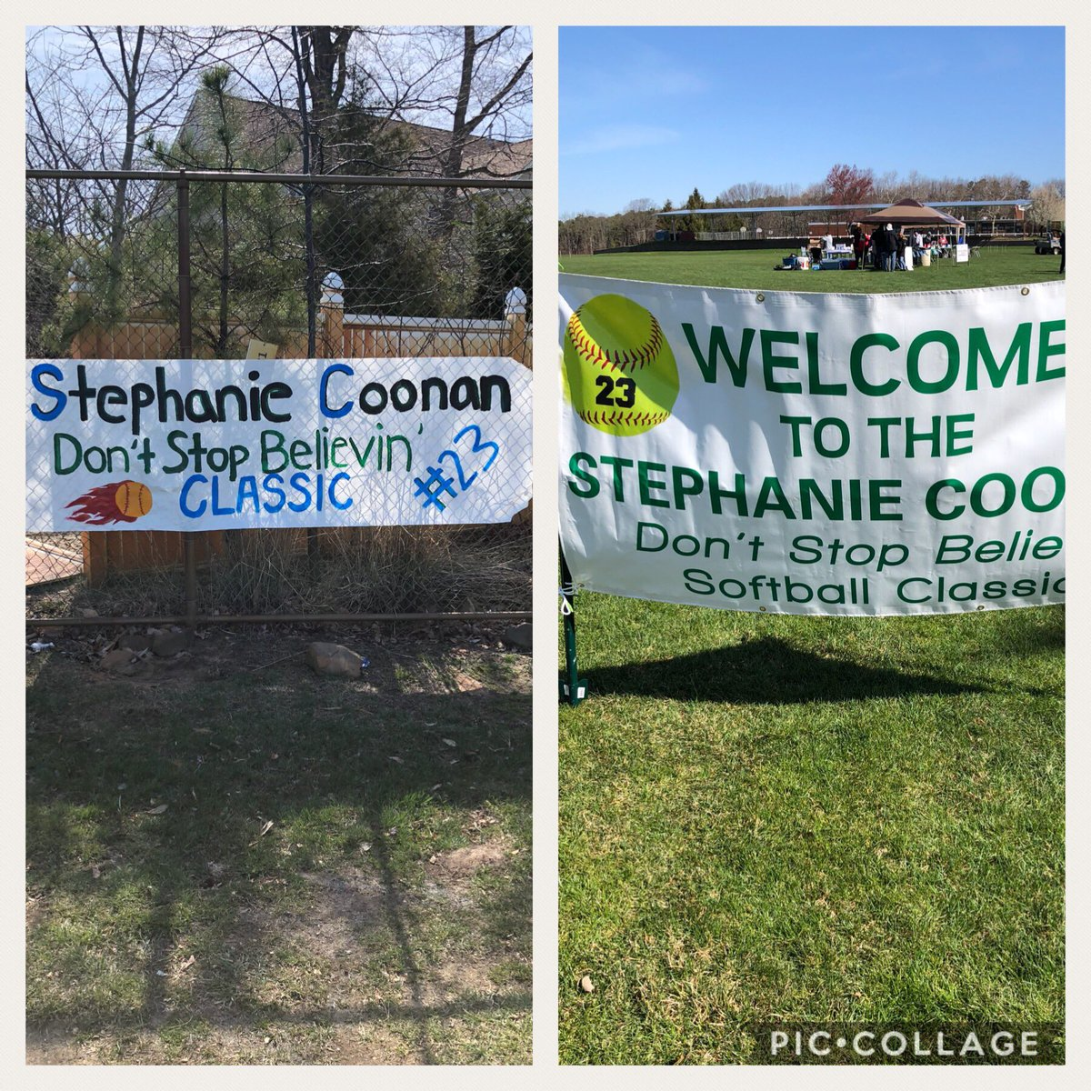 Looking forward to a great day of softball for an even better cause @RaritanSports ! Come out and support #steph <br>http://pic.twitter.com/IH6ErC3ZJx